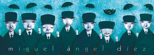 miguel ángel díez, ilustración