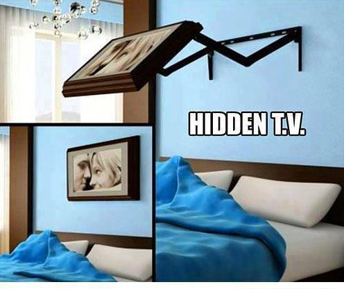 Hidden TV