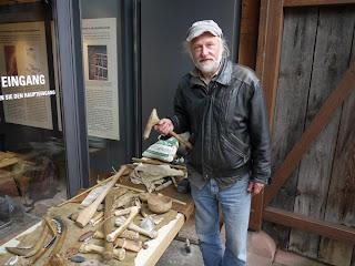 Eckhard Czarnowski am Internationalen Museumstag 2013 in Herxheim