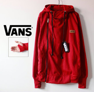 Jaket Model Korea Warna Merah