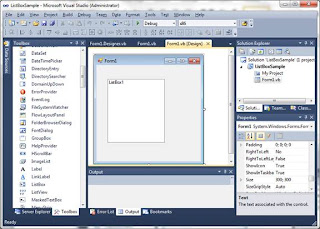 ListBox dans Visual Basic