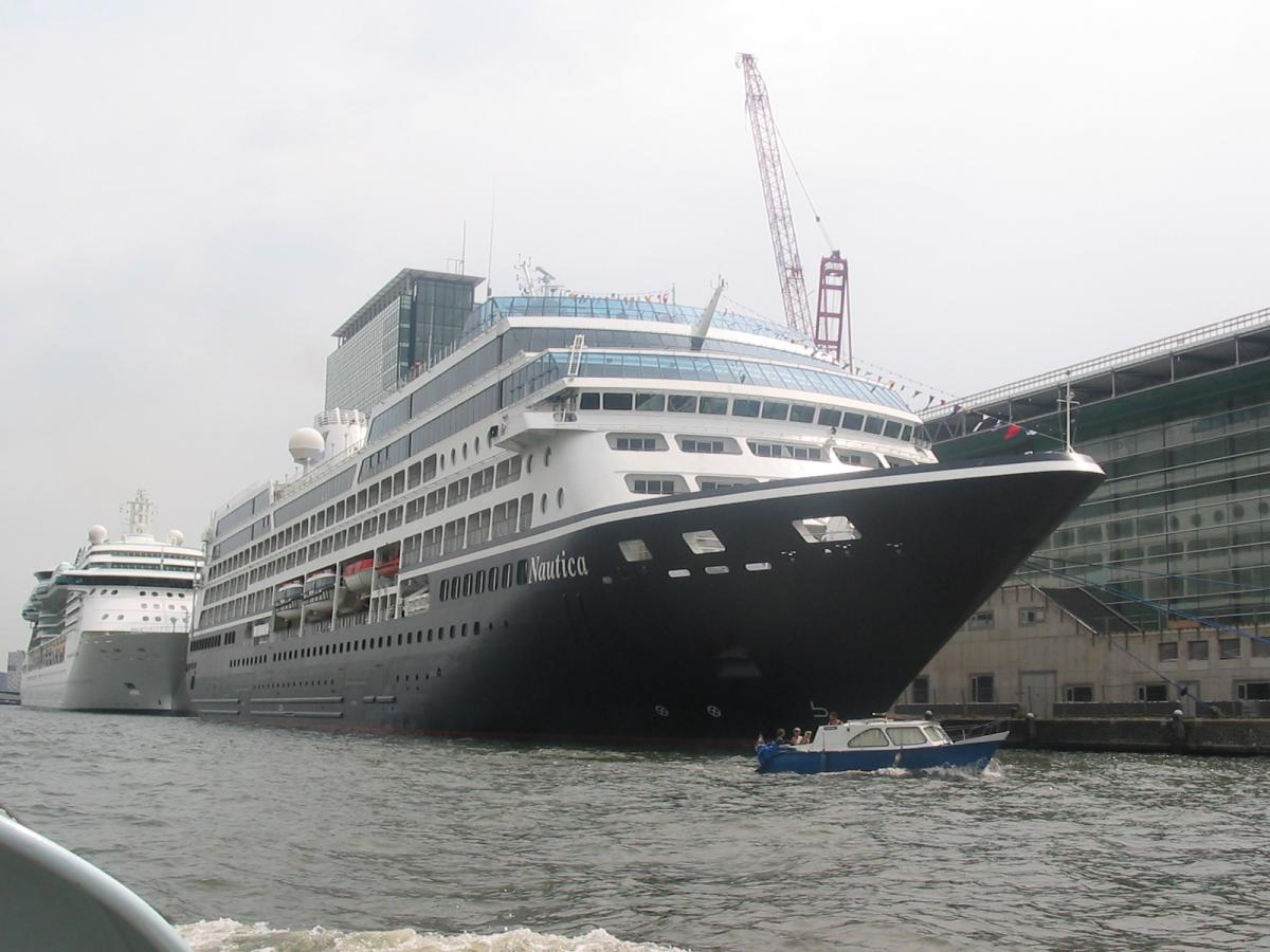 Sea Travel: big ships and the river.