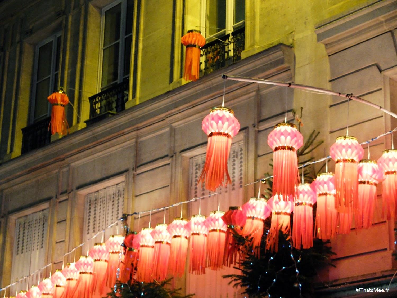 quartier indien lampion nouvelle année Gare du Nord Paris rue Cail ThatsMee.fr
