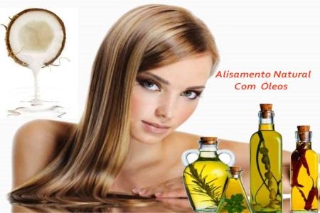 Alisamento com óleos mais acelerado