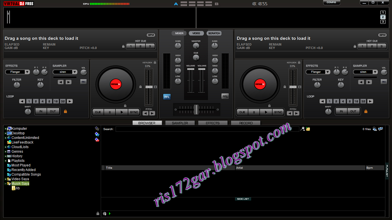 Virtual dj home free version 7 4 2 full serial download for Virtual home software