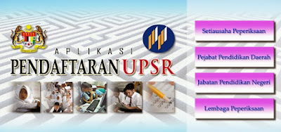 daftar upsr 2016
