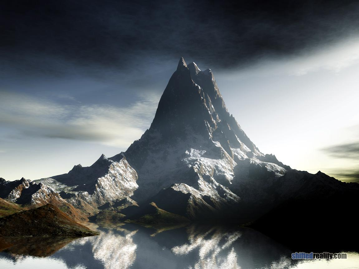 Paramount High Resolution Mountain Peaks