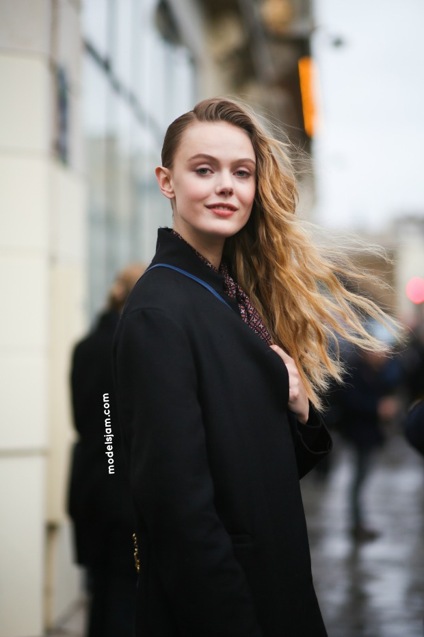 Frida Gustavsson, Paris, January 2015