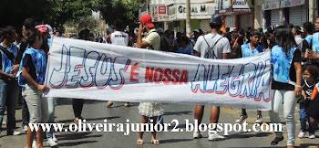 DESFILE CÍVICO JANAÚBA 2013 GRUPO KAIRÓS