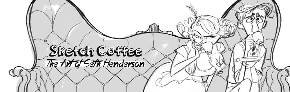 Sketch Coffee: The Art of Seth Henderson