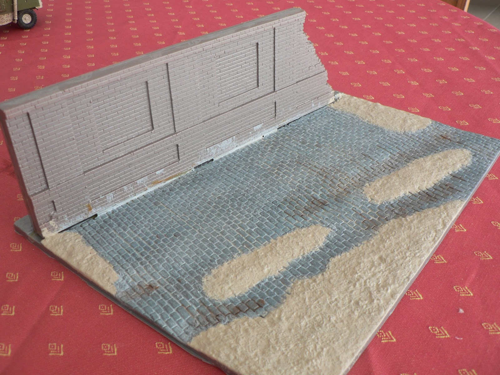 Maquettes militaires de martin diorama irak 1 35 - Peindre des paves autobloquants ...