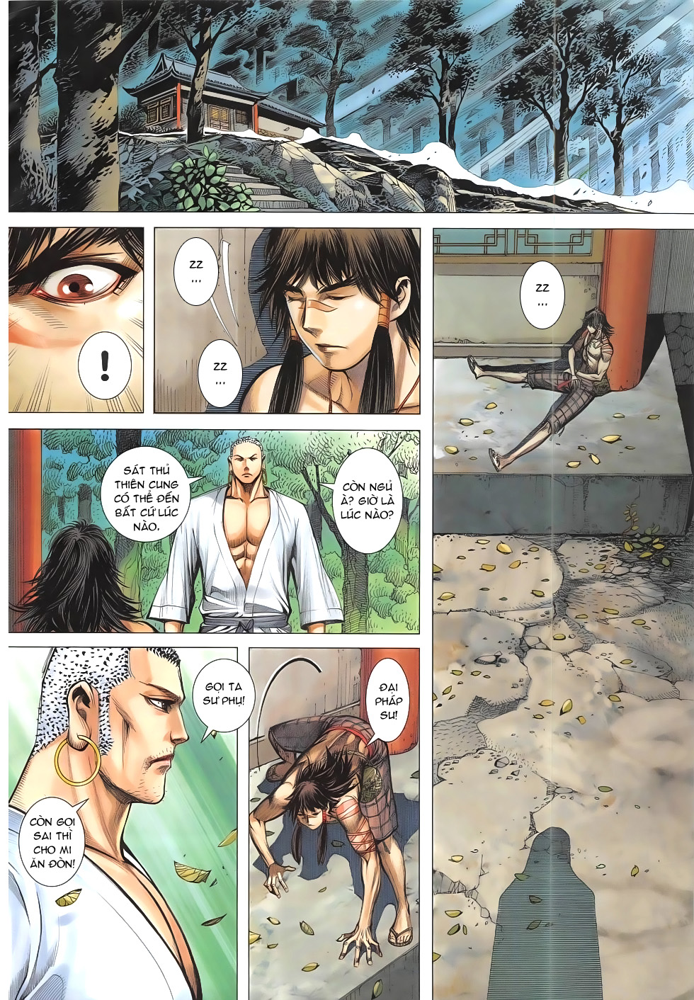Tây Du chap 8 Trang 30 - Mangak.info