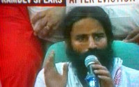 ramdev-after-eviction-in-white ...