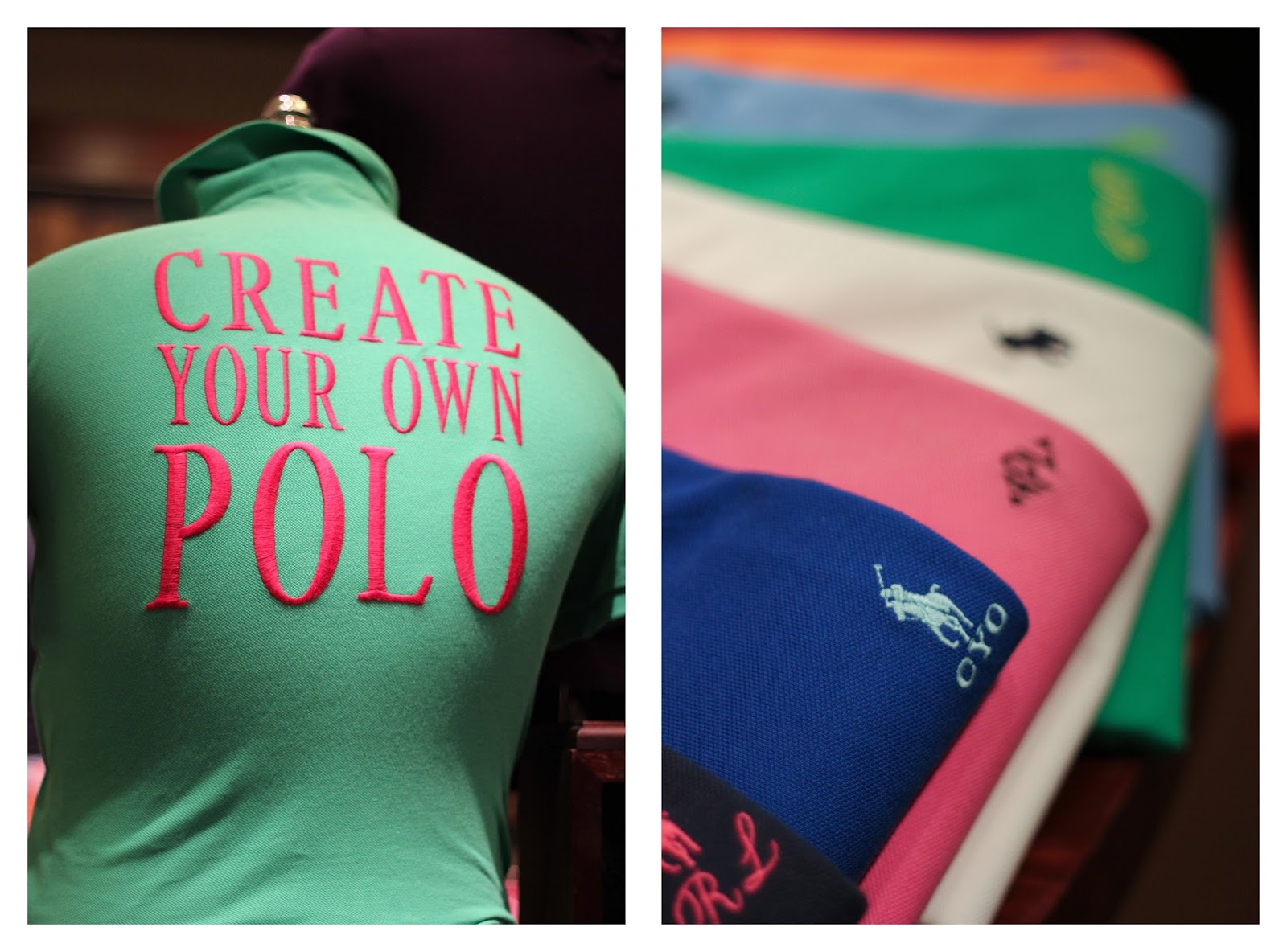 Design your own polo shirt ralph lauren for Design your own polo shirts