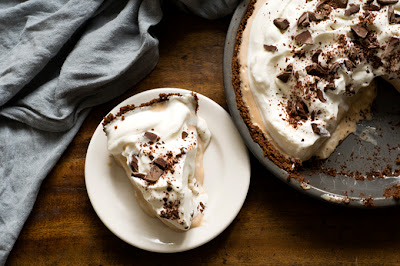 Mexican coffee ice cream pie