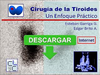 Pulsar la imagen para descargar el libro:  CIRUGÍA DE LA TIROIDES UN ENFOQUE PRÁCTICO