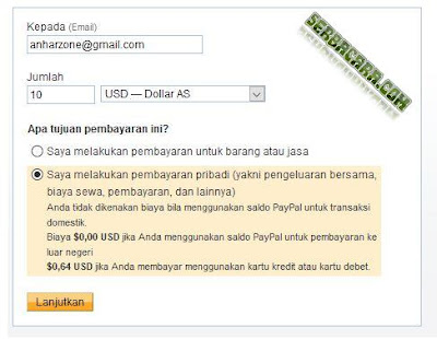 Cara Transfer Paypal