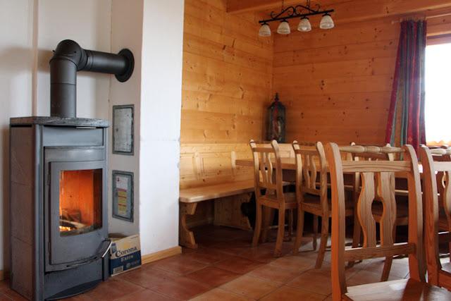 Almdof Reiteralm - Hütte Dachstein Wohnküche