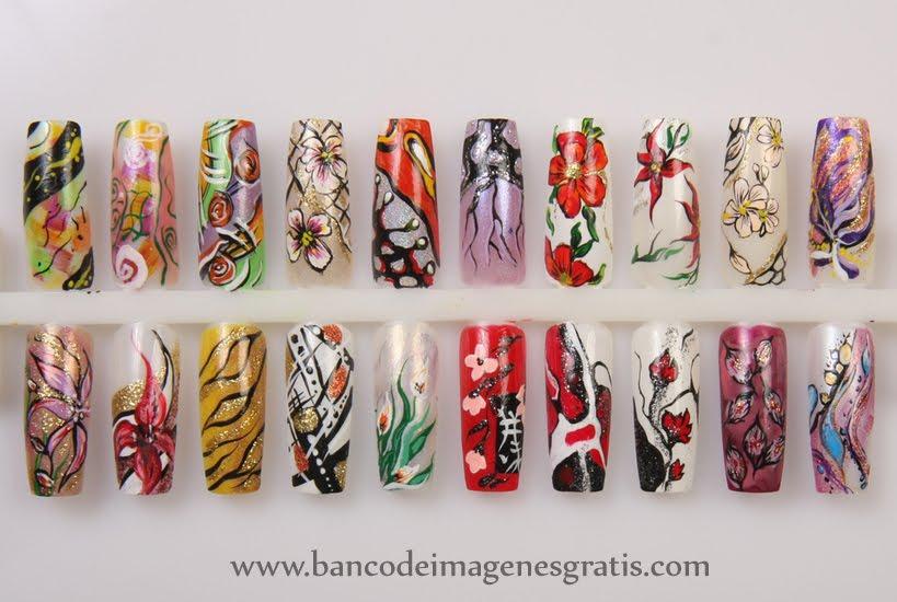 20 ideas gratis sobre decoración en uñas de acrílico