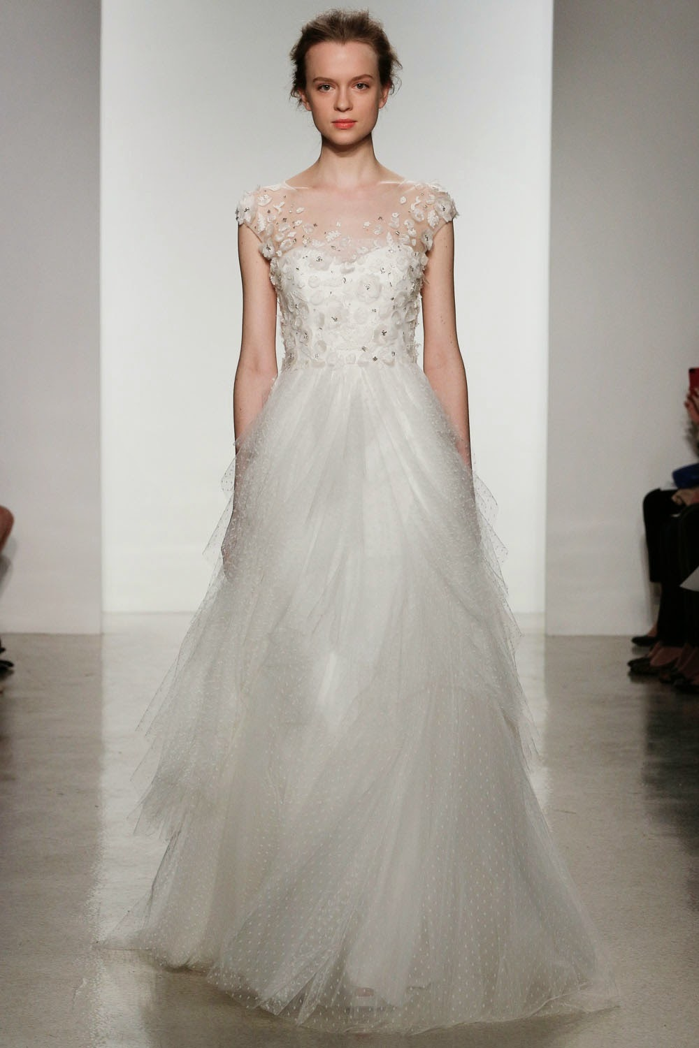 Christos spring 2015 wedding dresses runway world of for Dresses for spring wedding
