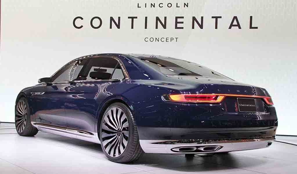 2016 lincoln continental review concept specs coupe cars news and spesification. Black Bedroom Furniture Sets. Home Design Ideas