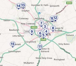 Tesco in the Norwich area