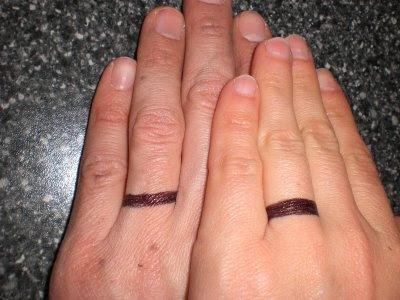 New fashion wedding ring: Mens wedding ring tattoos designs