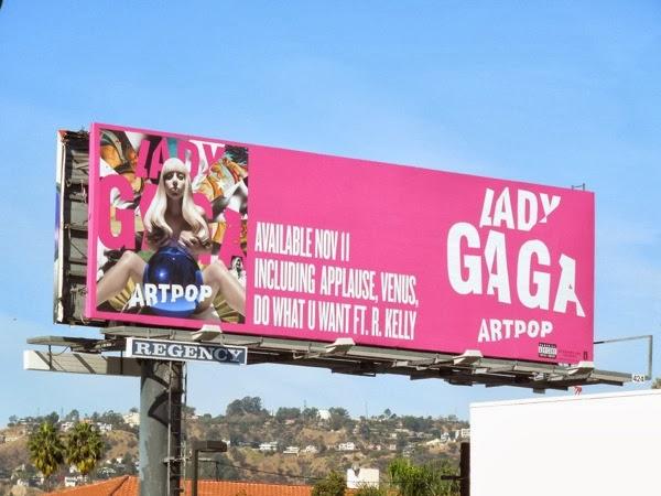 Lady Gaga Artpop album billboard