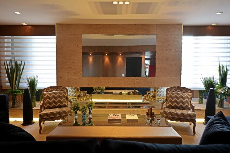Sala De Estar Com Tv Grande ~ Livings decorados  veja 40 salas de estar de estilos diferentes