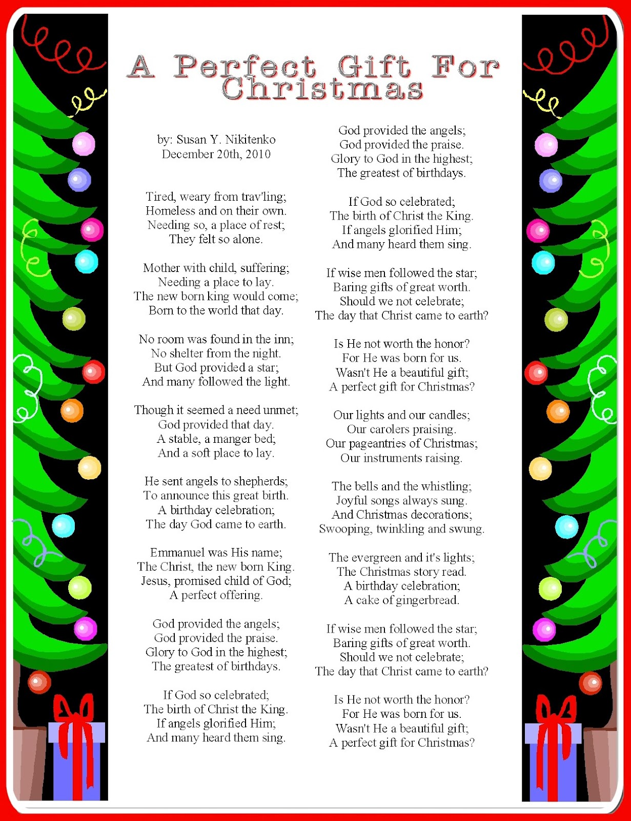 Religious Christmas Poems And Quotes. QuotesGram