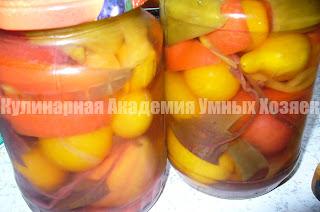 помидоры маринованные по итальянски готовые