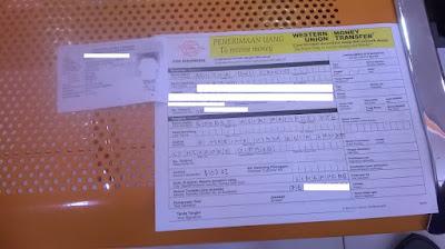 Cara Ambil Uang Google Adsense Via Western Union di Kantor Pos
