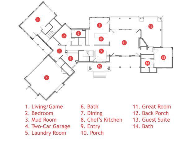 Modern Furniture Floor Plan And Rendering 2012 Hgtv