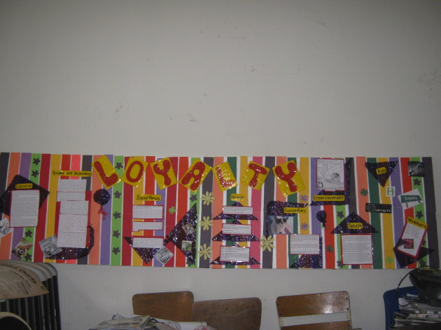 Peri dicos murales pasos para elaborar el peri dico mural for Avisos de ocasion el mural