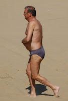 Grandpas on beach