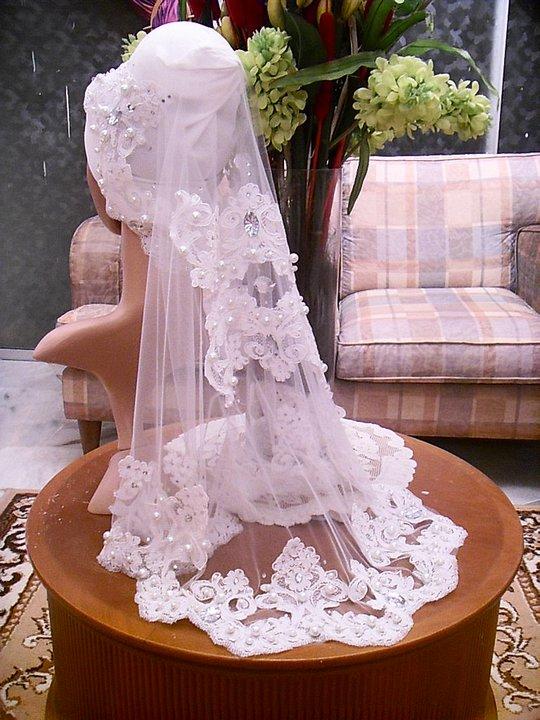 Life.Experience.Express: Lace untuk veil