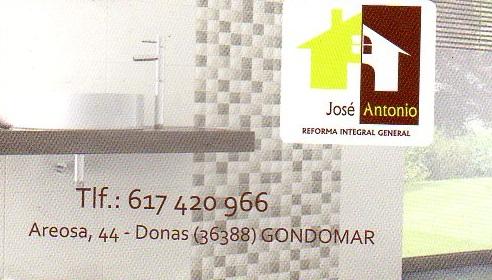 Jose Antonio. Reforma Integral General