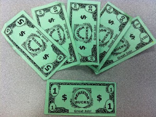 Culinary court behavior bucks and classroom auctions for Classroom bucks template