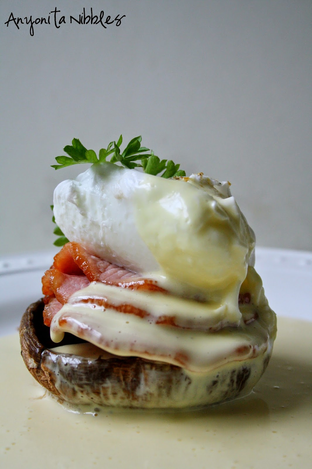 Eggs Benedict makes a perfect weekend breakfast from Anyonita Nibbles