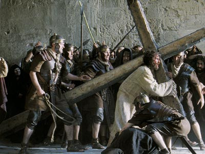 a review of the controversial movie the passion of the christ Review: vivid and controversial, mel gibson's gore-spattered, self-financed celebration of the suffering and death of jesus (james caviezel) is inseparable from the bitter debate it engendered.