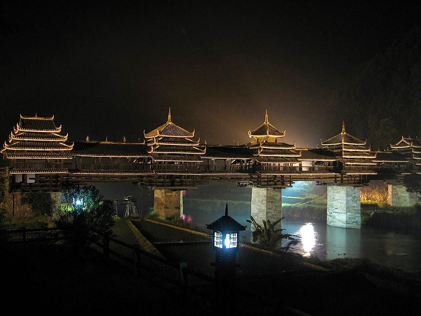 Chengyang Wind and Rain Bridge, China