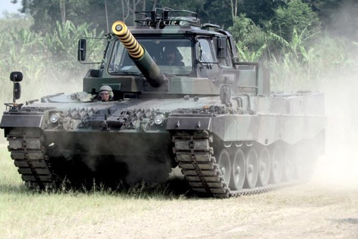 Tank Leopard 2 TNI