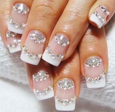 Summer acrylic nail designs wedding nails designs 2014 cute wedding nails art nails art 2014 prinsesfo Choice Image