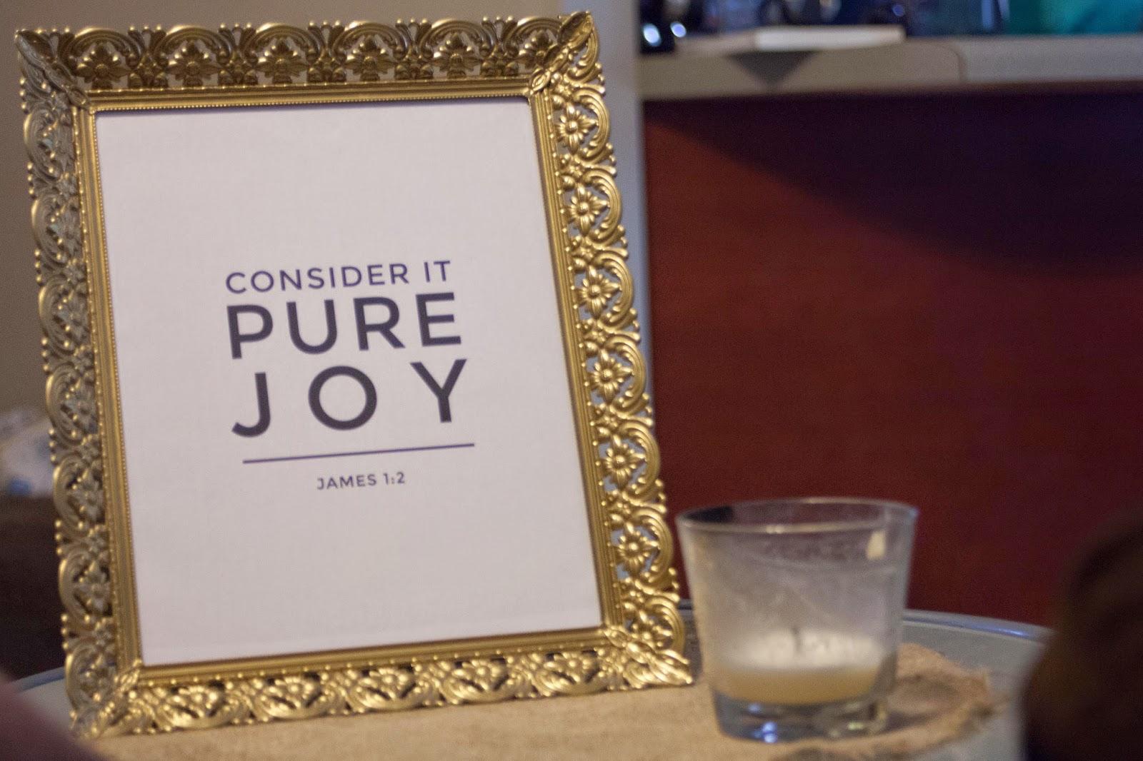 "Melinda Wood Designs prints. James ""Consider it pure joy"""