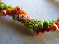 bead crochet rope - ClearlyHelena