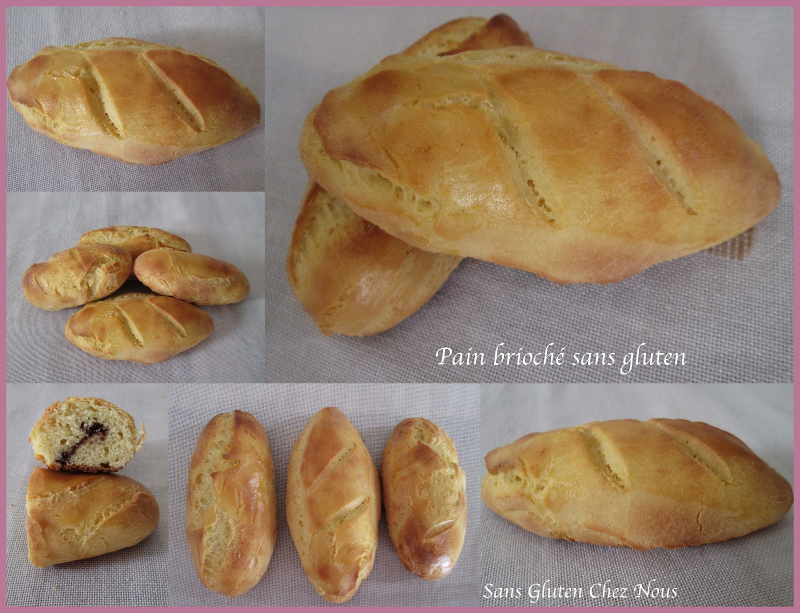 Sans gluten en tunisie pain brioch sans gluten fourr au chocolat - Recette pain sans levure ...