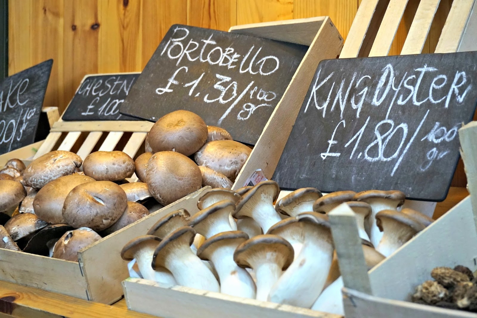 Borough Market Mushrooms