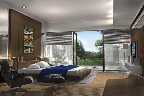 Executive minimalis bedroom interior design agit garden for Design interior modern minimalis