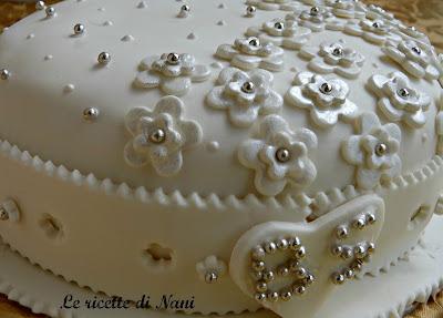 la torta per un anniversario...