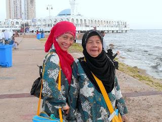 Syahdu Senja di Laut Merah Jeddah Saudi Arabia